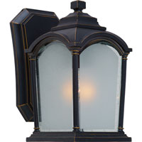 Artcraft Lighting Hartford 1 Light Outdoor Wall in Black w/ Bronze Highlights AC8100BG photo thumbnail