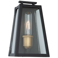 Black Vintage Gold Outdoor Wall Lights