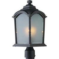 Artcraft Lighting Hartford 1 Light Post Head in Black w/ Bronze Highlights AC8113BG photo thumbnail