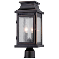 Artcraft AC8173OB Mansard 2 Light 18 inch Bronze Outdoor Post Light