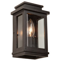Freemont 1 Light 8 inch Oil Rubbed Bronze Outdoor Wall Light