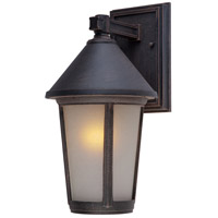 ARTCRAFT Malibu 1 Light Outdoor Wall Mount in Rust AC8200RU