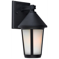 ARTCRAFT Malibu 1 Light Outdoor Wall Mount in Black AC8210BK photo thumbnail