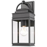 Artcraft AC8220BK Fulton 1 Light 14 inch Black Outdoor Wall Sconce