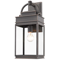 Artcraft AC8230OB Fulton 1 Light 20 inch Oil Rubbed Bronze Outdoor Wall Sconce