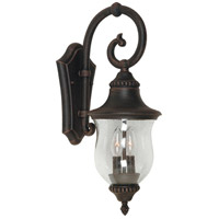 ARTCRAFT Premiere 2 Light Outdoor Wall Sconce in Bronze AC8241BZ