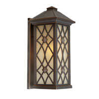 Artcraft Lighting Lattice 1 Light Outdoor Wall in Oil Rubbed Bronze AC8261OB