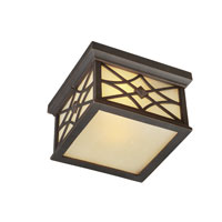 Artcraft Lighting Lattice 2 Light Outdoor Ceiling in Oil Rubbed Bronze AC8266OB