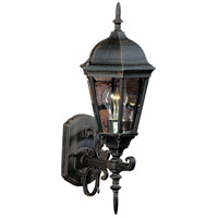 Artcraft Tudor 1 Light Wall Bracket in Rust AC8310RU