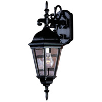 Artcraft Lighting Tudor 1 Light Outdoor Wall in Black AC8311BK