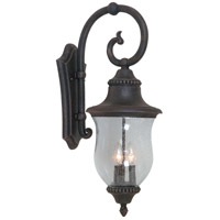 ARTCRAFT Premiere 3 Light Outdoor Wall Sconce in Bronze AC8381BZ photo thumbnail