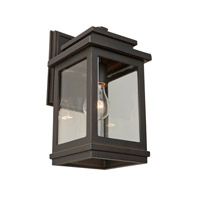 ARTCRAFT Fremont 1 Light Outdoor Sconce in Oil Rubbed Bronze AC8390ORB