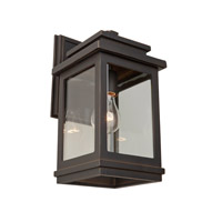 Freemont 1 Light 16 inch Oil Rubbed Bronze Outdoor Sconce