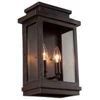 ARTCRAFT Fremont 2 Light Outdoor Sconce in Oil Rubbed Bronze AC8391ORB
