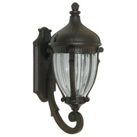ARTCRAFT Anapolis 1 Light Outdoor Wall Sconce in Oil Rubbed Bronze AC8570OB