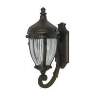 ARTCRAFT Anapolis 3 Light Outdoor Wall Sconce in Oil Rubbed Bronze AC8580OB