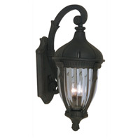 Anapolis 3 Light 27 inch Oil Rubbed Bronze Outdoor Wall Light
