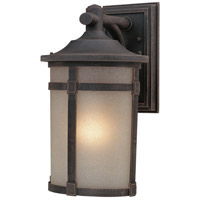 St. Moritz 1 Light 10 inch Bronze Outdoor Wall Lantern