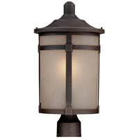 St. Moritz 1 Light 19 inch Bronze Post Lantern