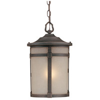 ARTCRAFT St. Moritz 1 Light Outdoor Pendant in Bronze AC8645BZ