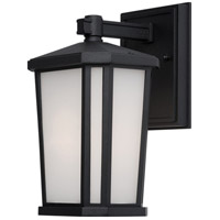Hampton 1 Light 10 inch Black Outdoor Wall Light