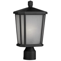 ARTCRAFT Hampton 1 Light Post Lantern in Oil Rubbed Bronze AC8773OB
