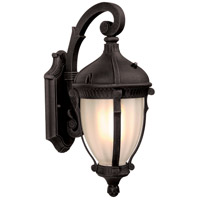 ARTCRAFT Anapolis 1 Light Outdoor Wall Sconce in Oil Rubbed Bronze AC8871OB
