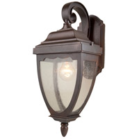 Oakridge 1 Light 15 inch Oil Rubbed Bronze Outdoor Wall Light