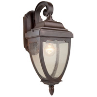 ARTCRAFT Oakridge 1 Light Outdoor Wall Sconce in Black AC8911BK