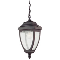 Oakridge 1 Light 12 inch Oil Rubbed Bronze Outdoor Pendant