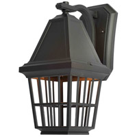 Artcraft Lighting Castille 1 Light Outdoor Wall in Black AC8961BK