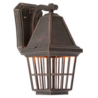 Artcraft Lighting Castille 1 Light Outdoor Wall in Rust AC8961RU