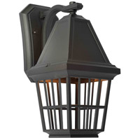 Artcraft Lighting Castille 1 Light Outdoor Wall in Black AC8962BK