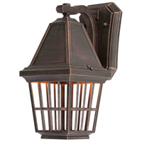 Artcraft Lighting Castille 1 Light Outdoor Wall in Rust AC8962RU