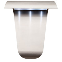 Fontana LED 11 inch Stainless Steel Outdoor Sconce