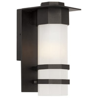 Artcraft Lighting Bedford 1 Light Outdoor Wall Sconce in Black AC9041BK