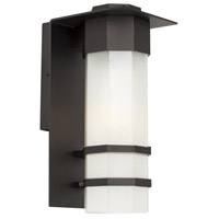 Bedford 1 Light 14 inch Black Outdoor Wall Light