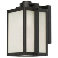Deacon Street 1 Light 10 inch Black Outdoor Wall Light
