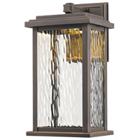 ARTCRAFT Sussex LED Outdoor Wall Mount in Oil Rubbed Bronze AC9070OB