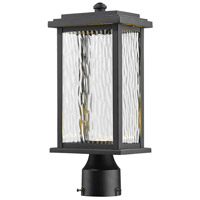 Sussex LED 15 inch Black Outdoor Post Light