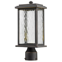 ARTCRAFT Sussex LED Post Light in Oil Rubbed Bronze AC9073OB