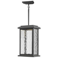 Sussex LED 7 inch Black Outdoor Pendant