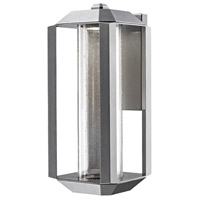 Wexford LED 7 inch Silver Leaf Outdoor Lantern
