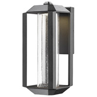 Wexford LED 14 inch Black Outdoor Wall Light