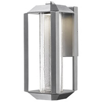 Wexford LED 6 inch Silver Leaf Outdoor Lantern