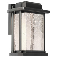 Addison LED 9 inch Silver Leaf Outdoor Wall Light