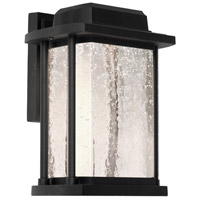 Artcraft Lighting Addison 1 Light LED Outdoor Wall Sconce in Black AC9122BK