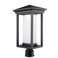 Overbrook LED 20 inch Black Outdoor Post Light