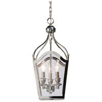 Artcraft Lighting Cambridge 3 Light Foyer Lantern in Chrome AC944CH