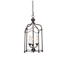 Artcraft Lighting Scarlet 3 Light Chandelier in Bronze CL1351BZ